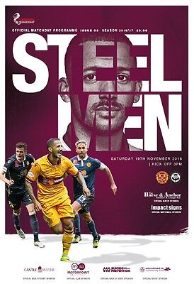 16/17 Motherwell v Partick Thistle
