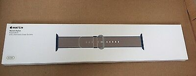 Woven Nylon Royal Blue Genuine 42mm Apple Watch Strap - Boxed New - MMA12ZM/A