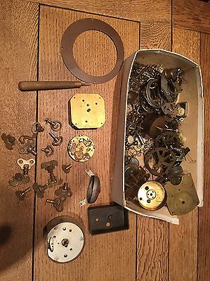 Job Lot Watchmakers/clock , Spares/Tools , Spares or Repair