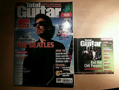 Total guitar magazine and CD 80 The Beatles