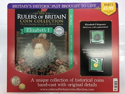 Rulers of Britain Coin Collection Issue 1 Magazine