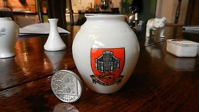 Goss Crested China  Norwich / See / Priory Urn