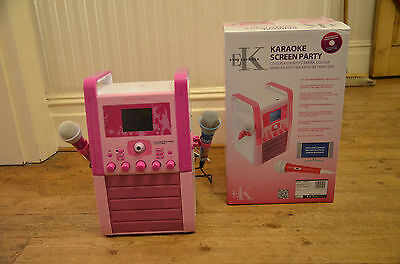 Children's Easy Karaoke Screen Party BOXED (and can connect to your Television)