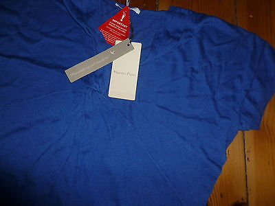 Mamas And Papas Blue Knot Front Thin Knit Maternity Jumper Size Uk 12-14 New Nwt