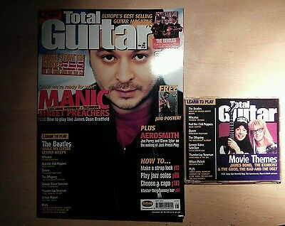 Total guitar magazine and CD 83 Manic Street Preachers