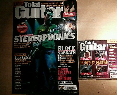 Total guitar magazine and CD 84 Stereophonics
