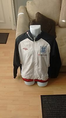 Rare Player Issued England Tracksuit Top - Liverpool