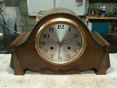 Lovely Antique haller art deco mantle clock