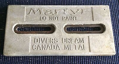 """Martyr Divers Dream Anode 12"""" x 6""""  8.125 Pounds"""