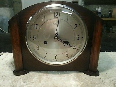 Antique smiths mantle clock 1951 stripped and cleaned.