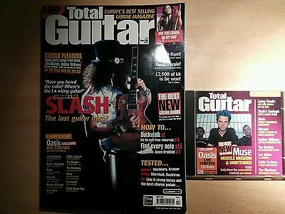 Total guitar magazine and CD 78 Slash