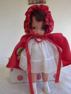 Nancy Ann Doll  LITTLE RED RIDING HOOD  MS/MB Pudgy Tummy EXCELLENT In Box
