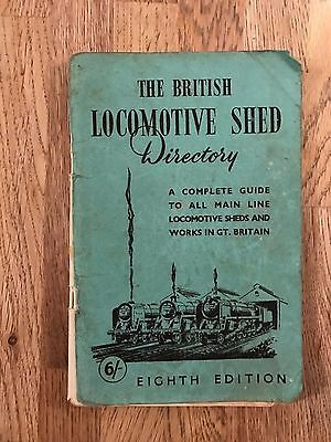 British Locomotive Shed Directory 1958 Complete Guide All Main Line Works railwa