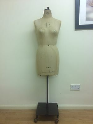 Kennett and Lindsell size 12 Dressmakers Mannequin With Collapsible Shoulders
