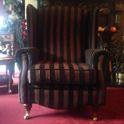 Lady;s Wimg Back Armchair