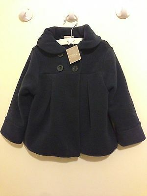 Next Girls Fleece Jacket Coat 3 - 4 Years BNWT