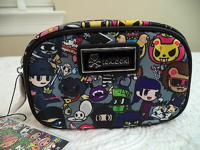 Tokidoki Cosmetic Case Bag Robbery Collection NWT