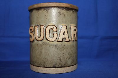 Tremar Pottery - Sugar Cannister