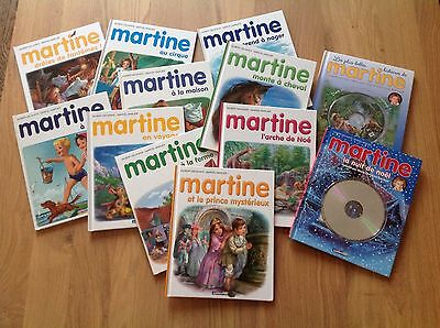 Lot 12 Livres Martine