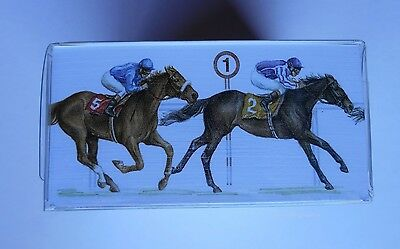 Horse & Jockey Racing 350 Desk 'Sticky Notes'  Phone Pad Boxed. A great gift!