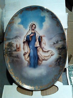 Bradford Exchange 2nd Issue Our Lady of Medjugorje Plate