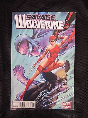 Marvel Comics – Savage Wolverine iss 6 – J. Scott. Campbell RARE Variant cover