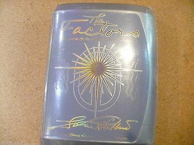 L. Ron Hubbard The Factors Factory Sealed New