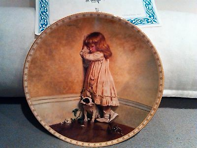"Royal Doulton A Victorian Childhood "" In Disgrace"" Plate"