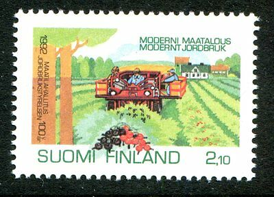 Finland Stamps Scott #889 Nat'l Board of Agriculture 1992 MNH