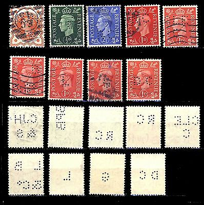 Great Britain 18A  INTERIOR PERFORATION  USED
