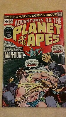 Adventures on the Planet of the Apes #3 (Dec 1975, Marvel)