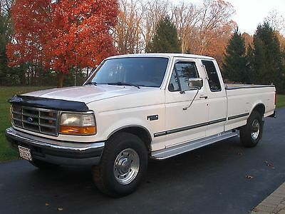 1997 Ford F-250 xlt 13,000 Original Miles California Truck 1 Owner Mint Condition