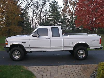 1996 Ford F-250 XLT Mint Condition Low Mile 87K No Rust 4x4