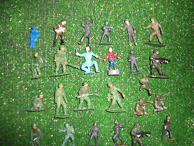 WW2 Hard plastic 40mm toy soilders