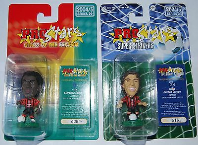 Corinthian Prostars AC Milan collection. Seedorf, Papin,Pirlo + more 9 figures.