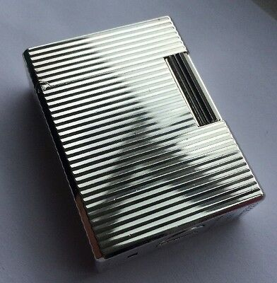 St.Dupont Ligne 1(small) Silver Plated Lighter- Newly Overhauled And Serviced
