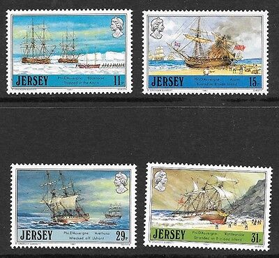 JERSEY: 1987 ADVENTURERS  STAMPS 4v ONLY MNH