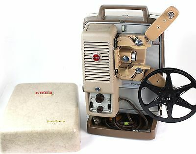 1960s KODAK 8 MM CINE SHOWTIME A 30 MOVIE FILM PROJECTOR FULLY FUNCTIONAL