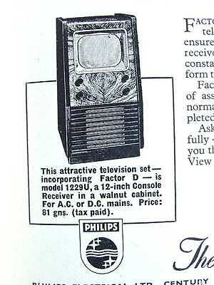 Television Receivers Testcards Repairs Electrics Valves Frequency Vintage Book