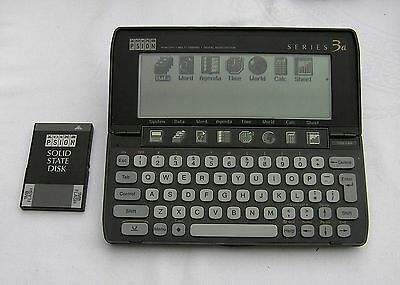 Psion Series 3a Computer 1MB Flash SSD PC Apple Vintage Retro Handheld Computer