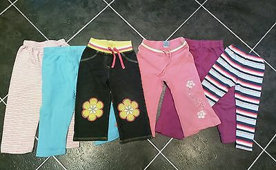 Baby girls trousers/ joggers/ leggings bundle 12-18 months