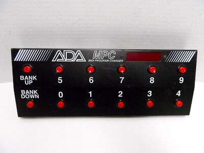 ADA MPC Midi Control Foot switch Pedal Guitar FX Effects MP-1 2 Classic VTG AXE