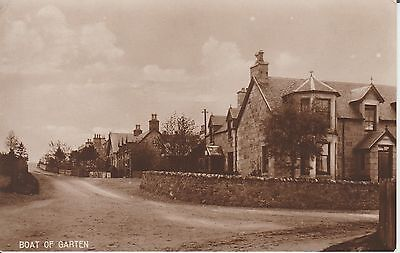Boat Of Garten  - Inverness-Shire  - Real Photo  Postcard