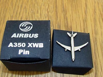 Airbus A350 Pin Badge Brand New.