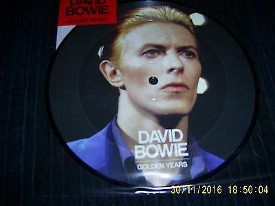 DAVID BOWIE - GOLDEN YEARS (40th ANNIVERSARY EDITION PICTURE DISC)