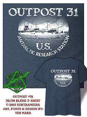 OUTPOST 31 T-Shirt (John Carpenter's The Thing) dark heather grey