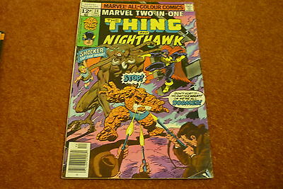 Marvel two In One No.34 (1977) - The Thing & Nighthawk teamup