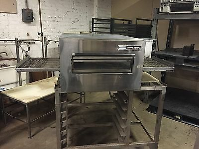"""Lincoln Impinger 1132 Conveyor Pizza Oven Stack Electric 18"""" Heavy Duty 208v 3ph"""