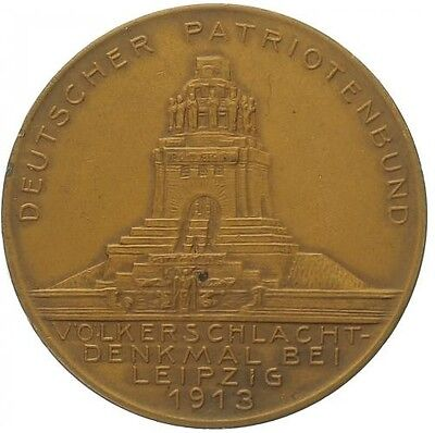 Germany Bavaria  medal 1913 - the 100th anniversary of the Battle of Leipzig