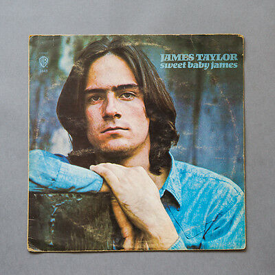 James Taylor - Sweet Baby James LP, US 1ST PRESS, #WS 1843, 1970